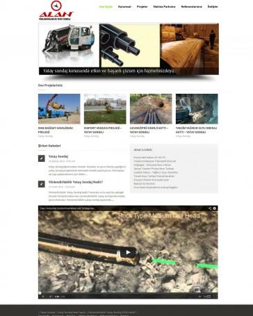 yatay sondaj web tasarım