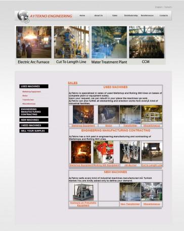 mühendislik firması web tasarım