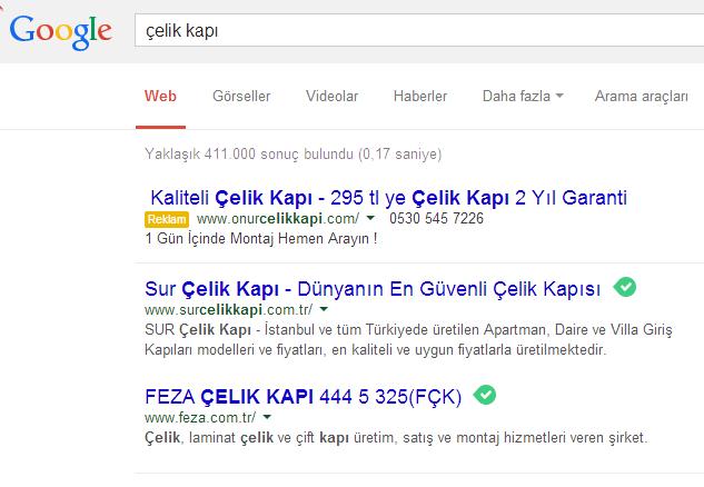 google-ilk-sayfa-reklam