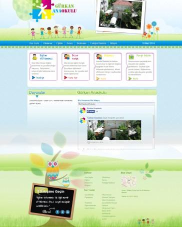anaokulu web tasarım