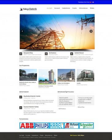 hakca-elektrik-web-tasarim-projesi