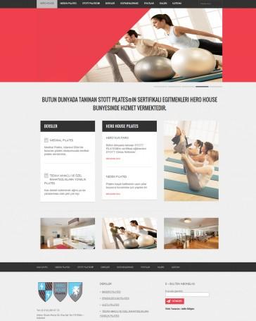 pilates-merkezi-web-tasarim
