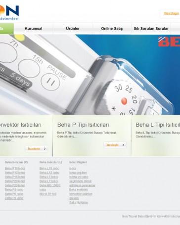 ikon-ticaret web tasarım