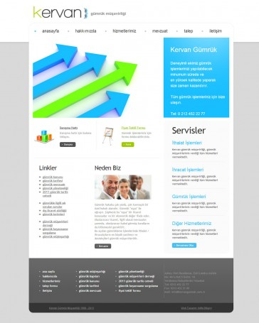 gümrük firması web tasarımı